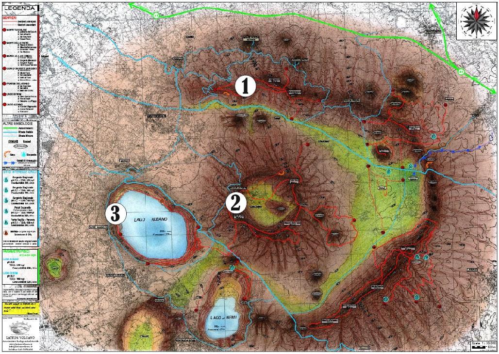 Risultati immagini per vulcano laziale